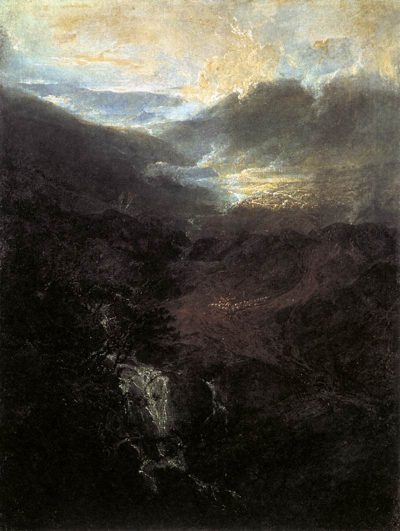 Morning Amongst the Coniston Fells, Cumberland 1798
