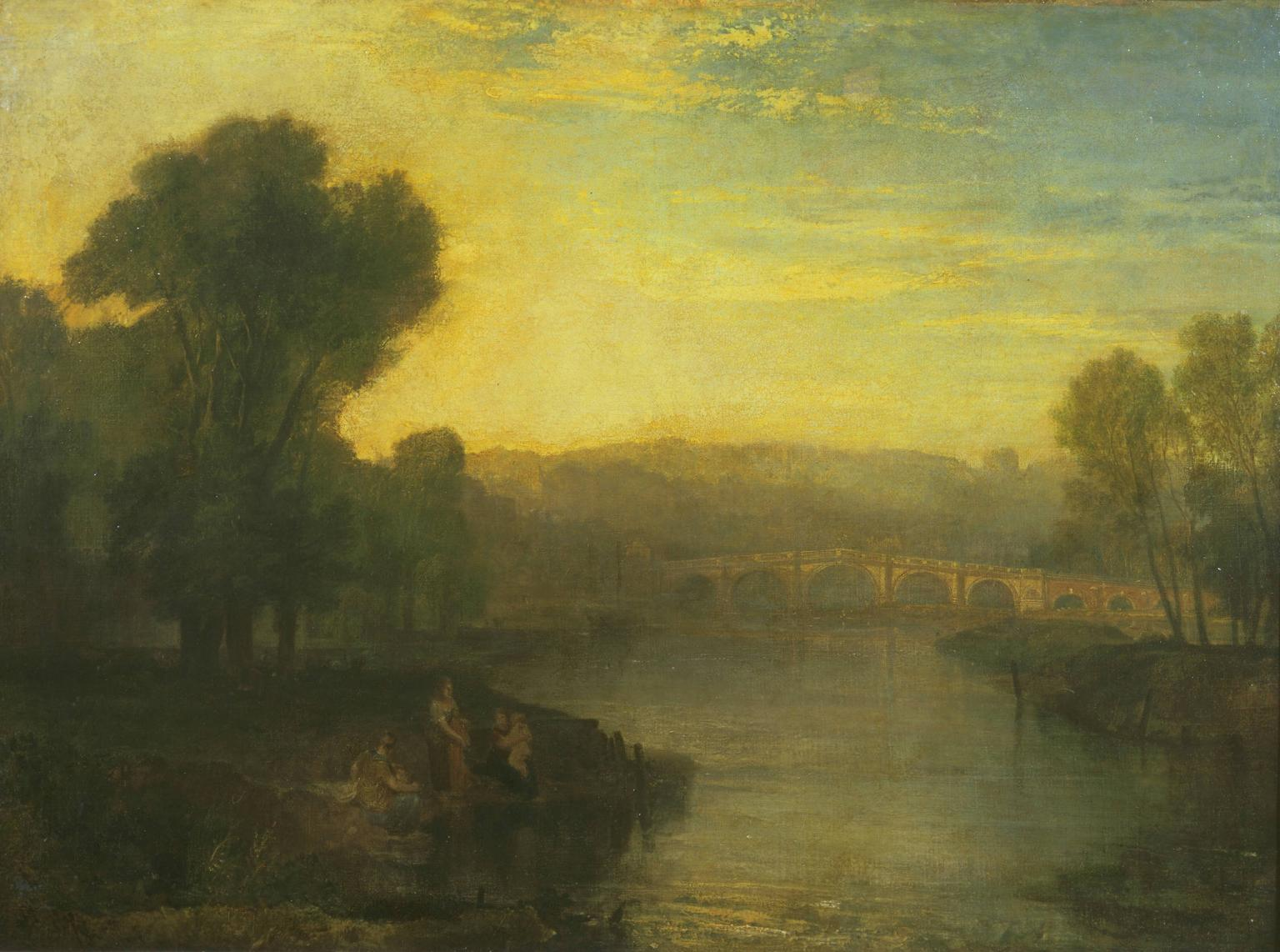 View of Richmond Hill and Bridge 1808