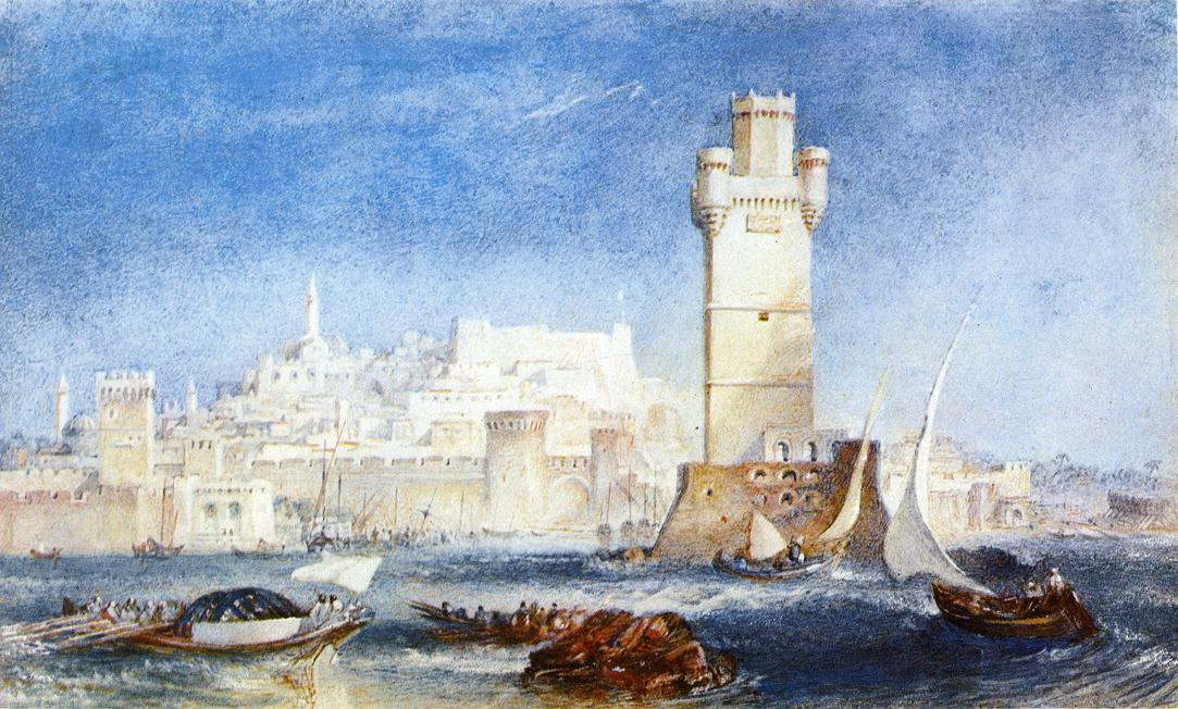 Rhodes, for Lord Byron's Works 1824