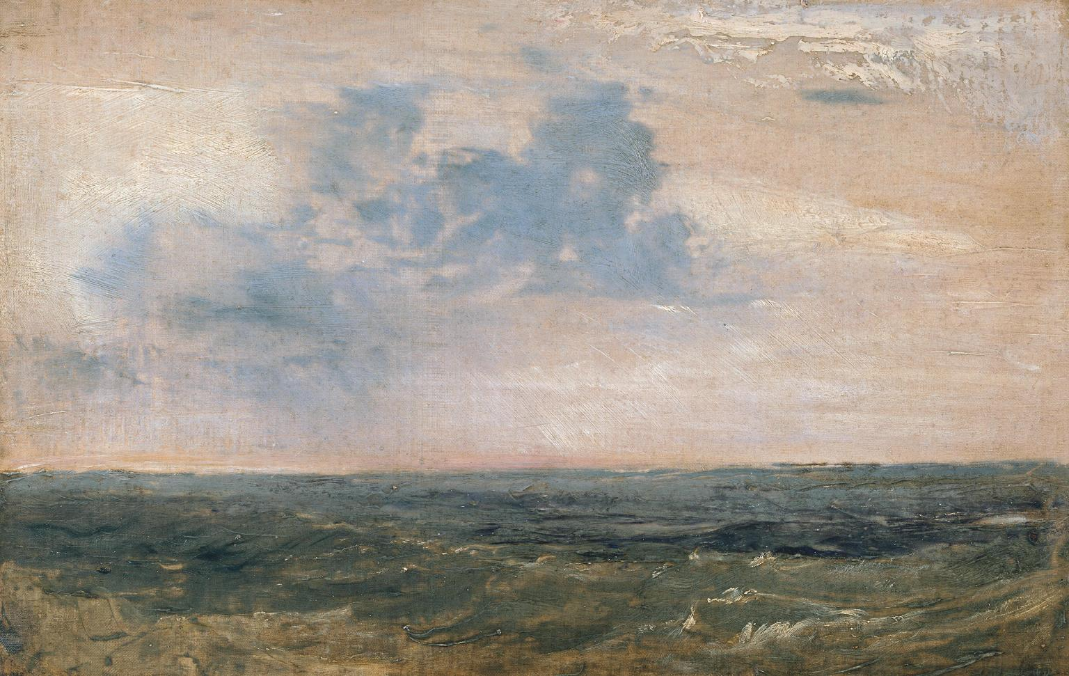 Study of Sea and Sky, Isle of Wight 1827