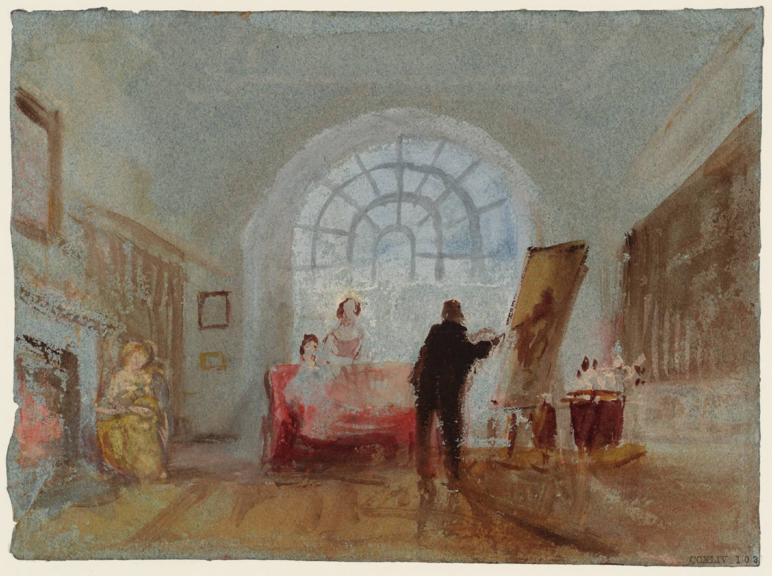 The Artist and his Admirers 1827