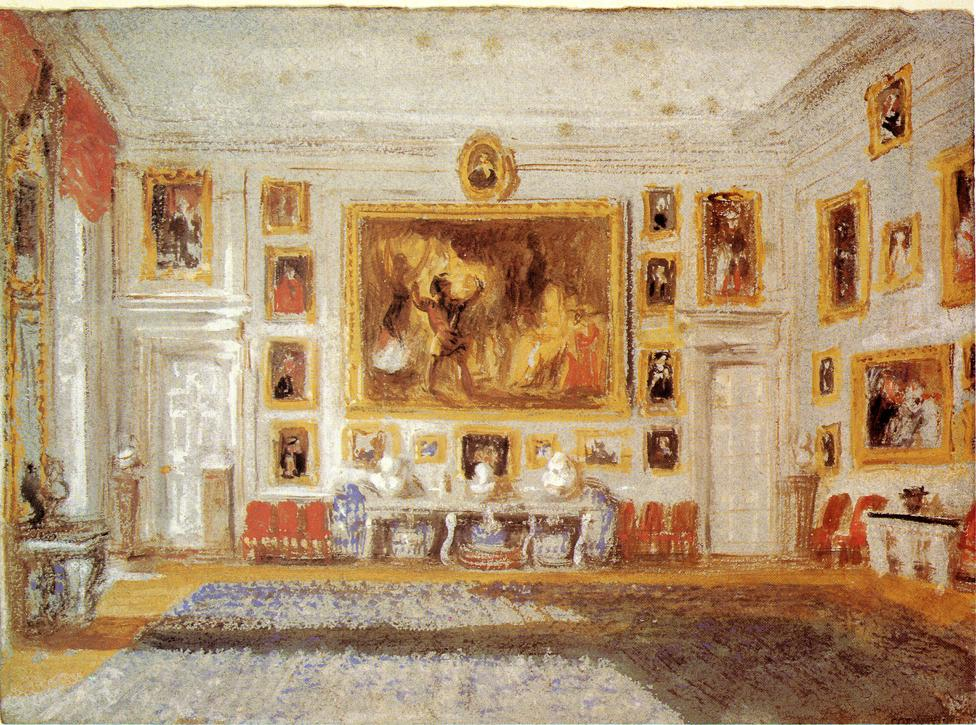 Petworth, the Drawing room 1828