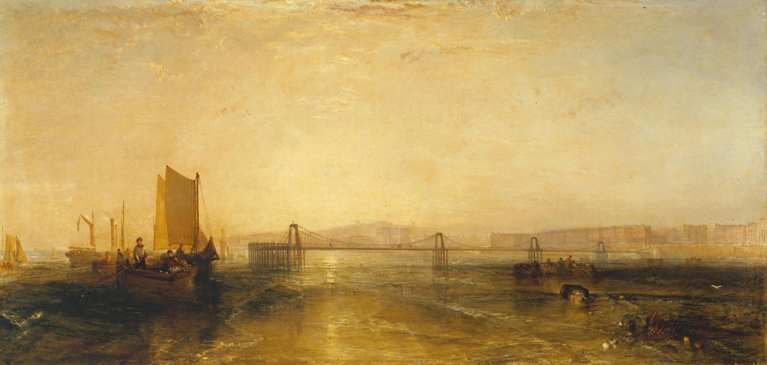 Brighton from the Sea 1829