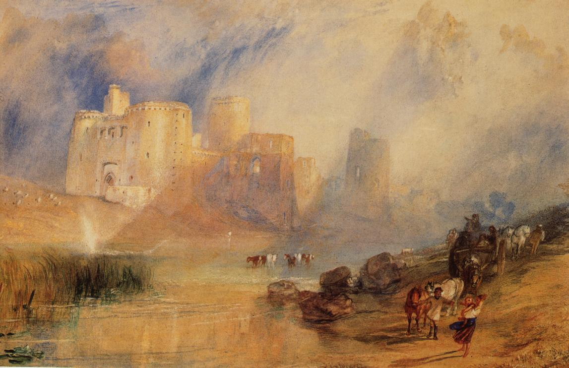 Kidwelly Castle, South Wales 1832