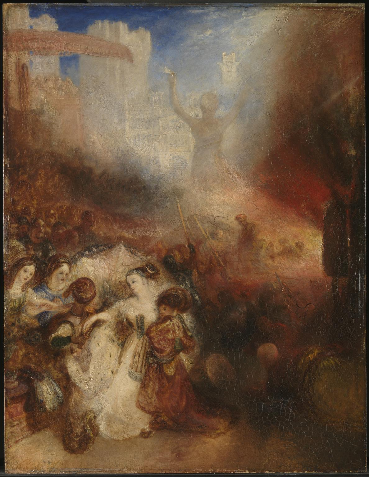 Shadrach, Meshach and Abednego in the Burning Fiery Furnace 1832