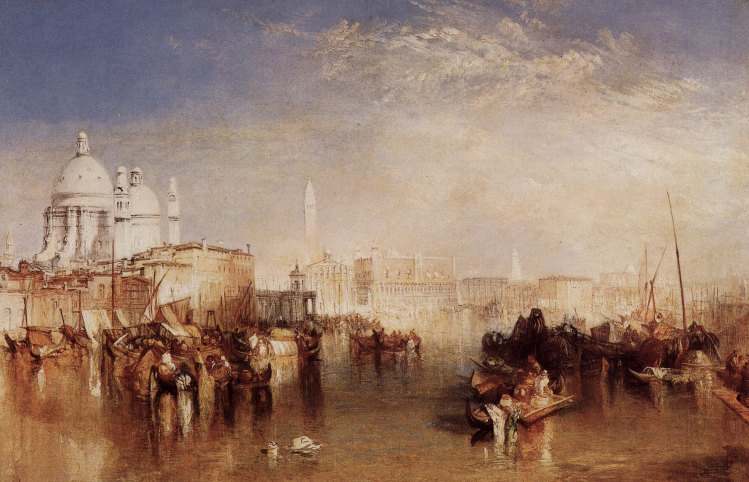 Venice, seen from the Giudecca Canal 1840