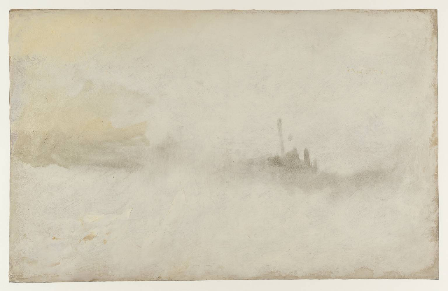 Ship in a Storm 1845