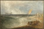 View off Margate, Evening 1840