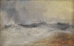 Waves Breaking against the Wind 1840