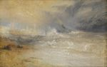 Waves Breaking on a Lee Shore at Margate 1840
