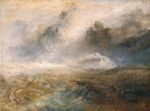 Rough Sea with Wreckage 1840-1845
