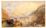 Brunnen, from the Lake of Lucerne 1845