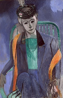 Portrait of the Artist's Wife 1913